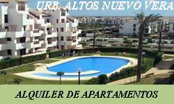 Alquiler de Apartamentos en Vera Playa por Urbanización Altos de Nuevo Vera