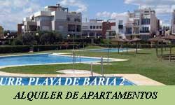 Alquiler de Apartamentos en Vera Playa por Urbanización Playa de Baria 2