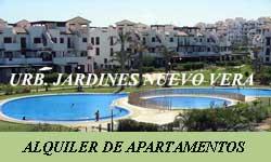 Alquiler de Apartamentos en Vera Playa por Urbanización Jardines de Nuevo Vera