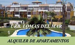 Alquiler de Apartamentos en Vera Playa por Urbanización Lomas del Mar I
