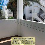 Terraza Cocina - Apartamento 2 Dormitorios - La Aldea de Puerto Rey - Vera Playa - Almería