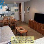 Salón - Apartamento 1 Dormitorio - La Aldea de Puerto Rey - Vera Playa - Almería