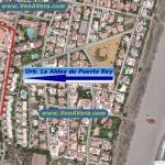 Vista Satélite - Urbanización La Aldea de Puerto Rey - Vera Playa - Almería