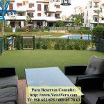 Terraza jardín L3-0C - Jardines Nuevo Vera - Vera Playa - Almería