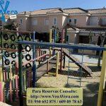 Columpios Urbanización Playas del Sur - Vera Playa - Costa de Almería